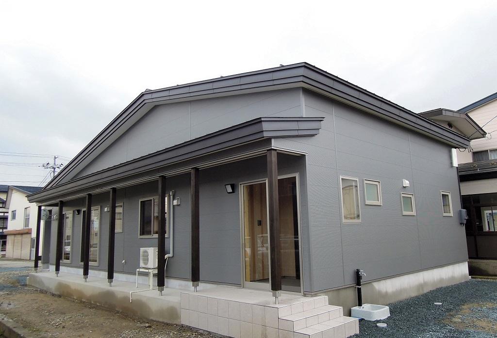 新庄エコハウス外観